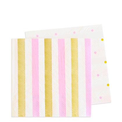 Gold Pink servilleta