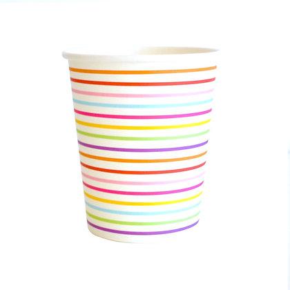 Rainbow vasos
