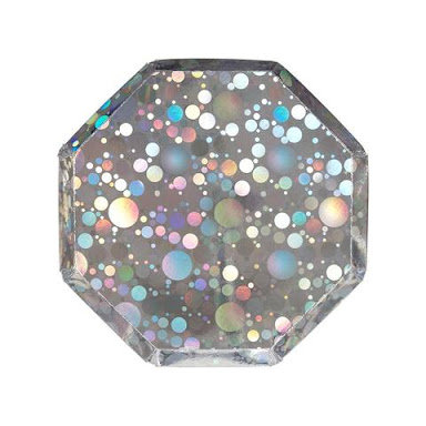 Burbujas holograficas plato chico