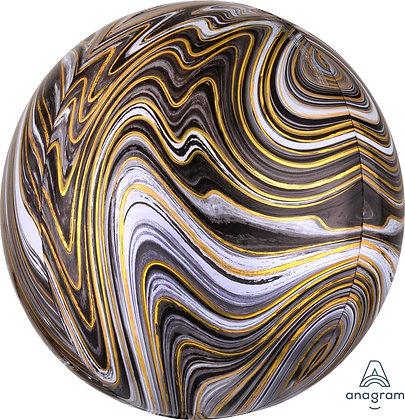 Burbuja Marmol Negro