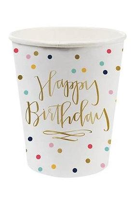 Happy birthday vasos