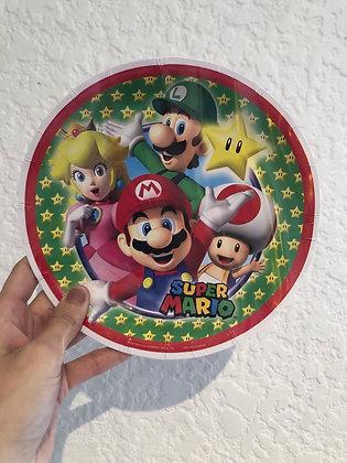 Plato chico Super Mario