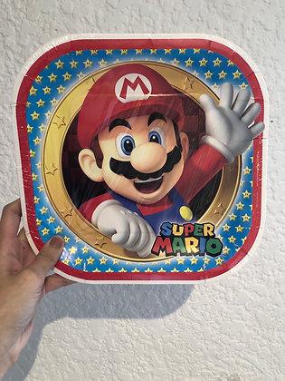 Plato grande Súper Mario
