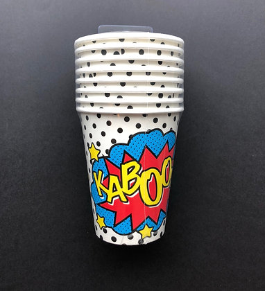 Comic Superheroe vasos
