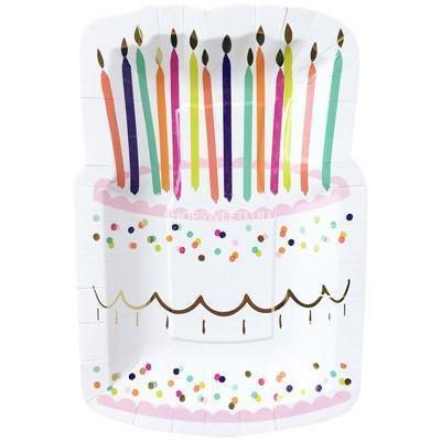 Birthday Cake platos