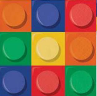 Lego Servilleta