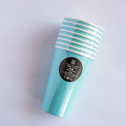 Vaso Azul Claro 16oz