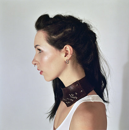 Ophela studded neck corset