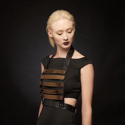 Josephine antique gold harness