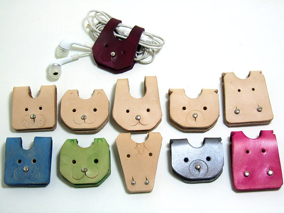 Animal shaped cable holder