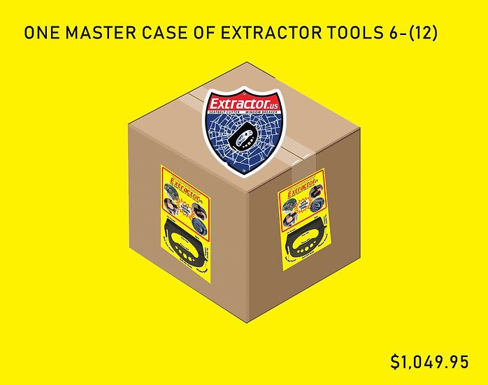 Extractor Tools Master Case 6 - (12) SAVE