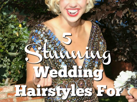 5 Stunning Wedding Hairstyles For Short Hair
