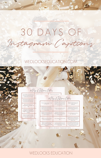 30 Days of Instagram Captions