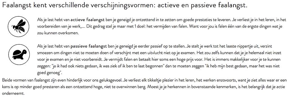 Faalangst training Hasselt Limburg Anthentiek