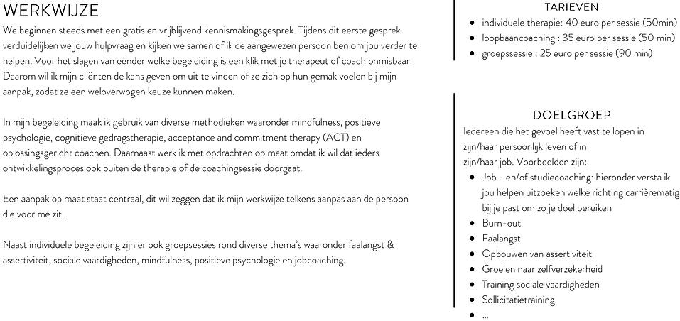 Therapeut en Loopbaancoach Anthentiek is gevestigd in Hasselt (Limburg). Ze behandelt diversie therapeutische problematieken zoals Faalangst, Burn-out, Assertiviteitscursussen, Sociale vaardigheden etc.