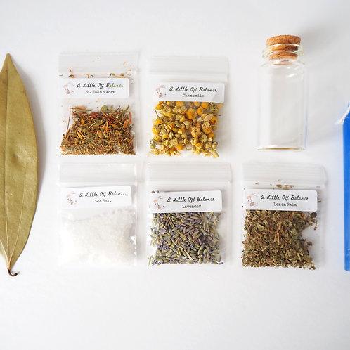 Calming Spell Jar Kit