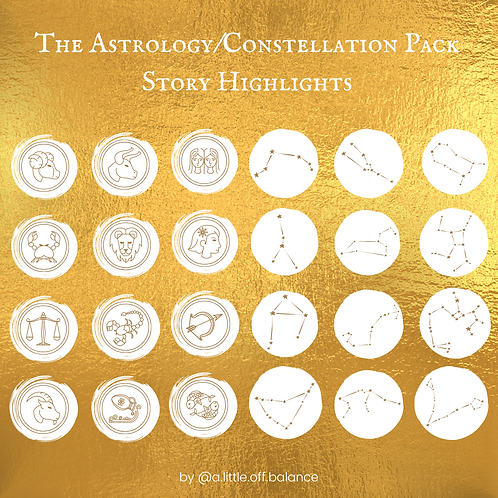 Astrology/Constellation Story Highlights