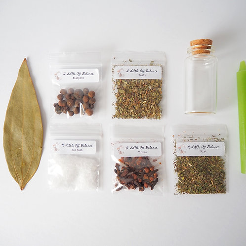 Prosperity  Spell Jar Kit