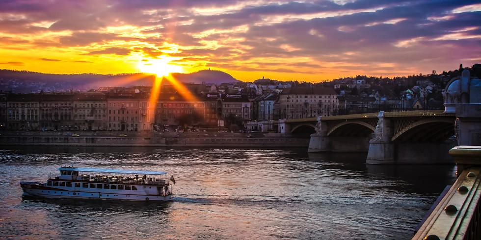 SUP túra Budapest szívében a felkelő nap sugarainál