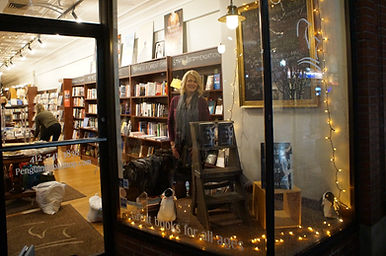 Rebecca Drake at Penguin Bookshop