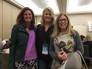 Rebecca Drake with readers at the Virginia Festival of the Book