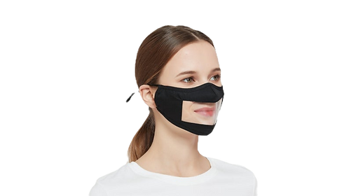 Lipstick  Peak Window Mask | Moulate6