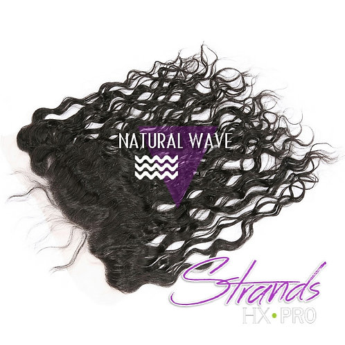 Strands Natural Wave Frontal Lace Closure