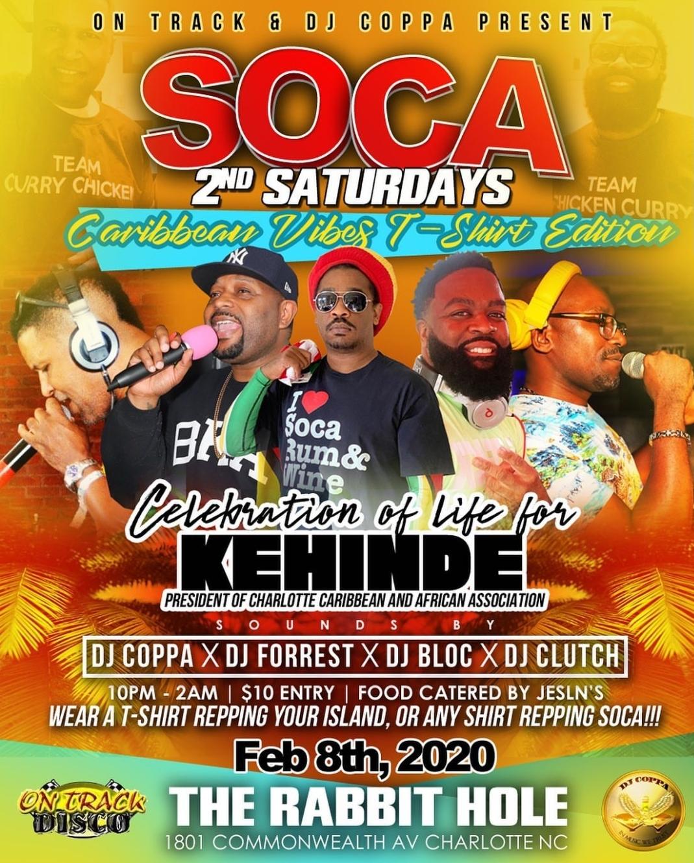 Soca 2nd Saturdays