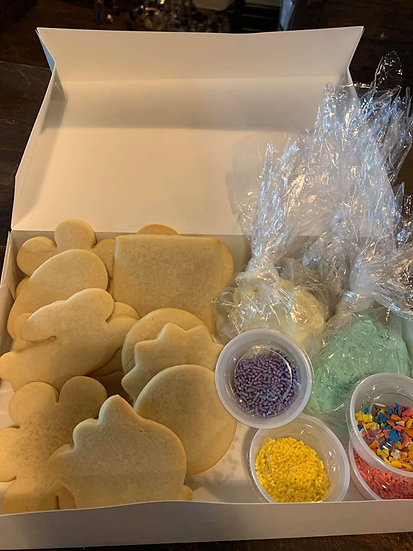 DIY Cut Out Cookie Decorating Kit