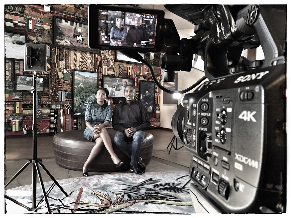 On a recent TV shoot using the Sony FS5
