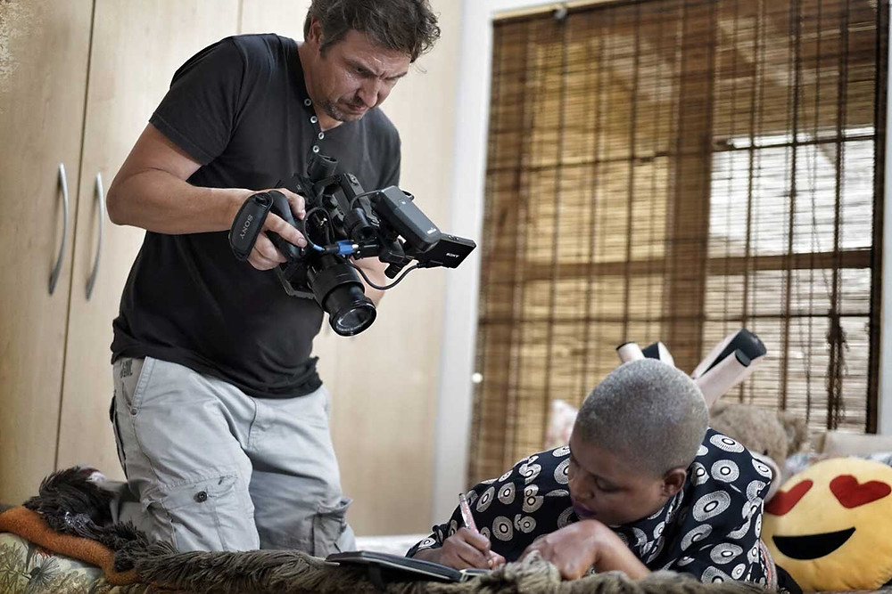 Out Director of Photography gets contestant b-roll with the Sony FS5