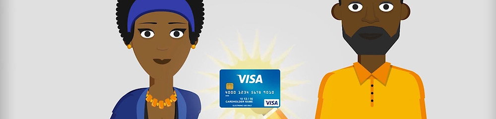 A recent animated video production for VISA
