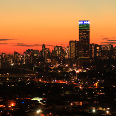 Johannesburg City at Sunset.jpg