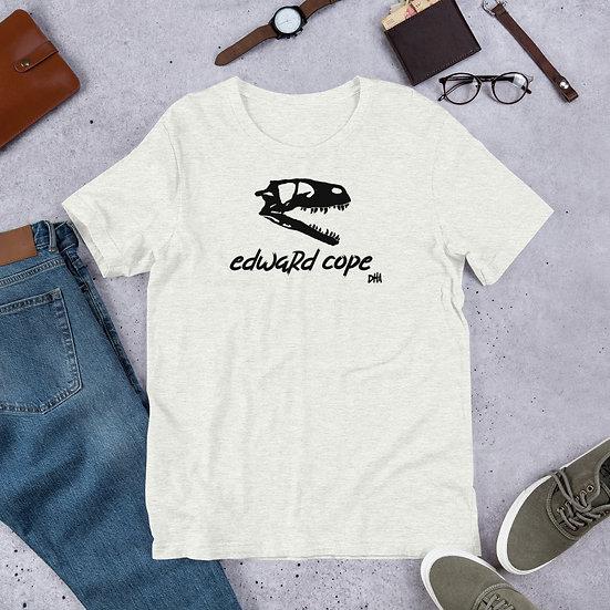 Edward Cope Dinosaur Hunting Apparel Skull SS Unisex T-shirt (Black)