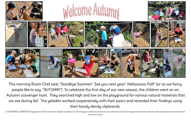 "Room Chet ""Welcomes Autumn!"""