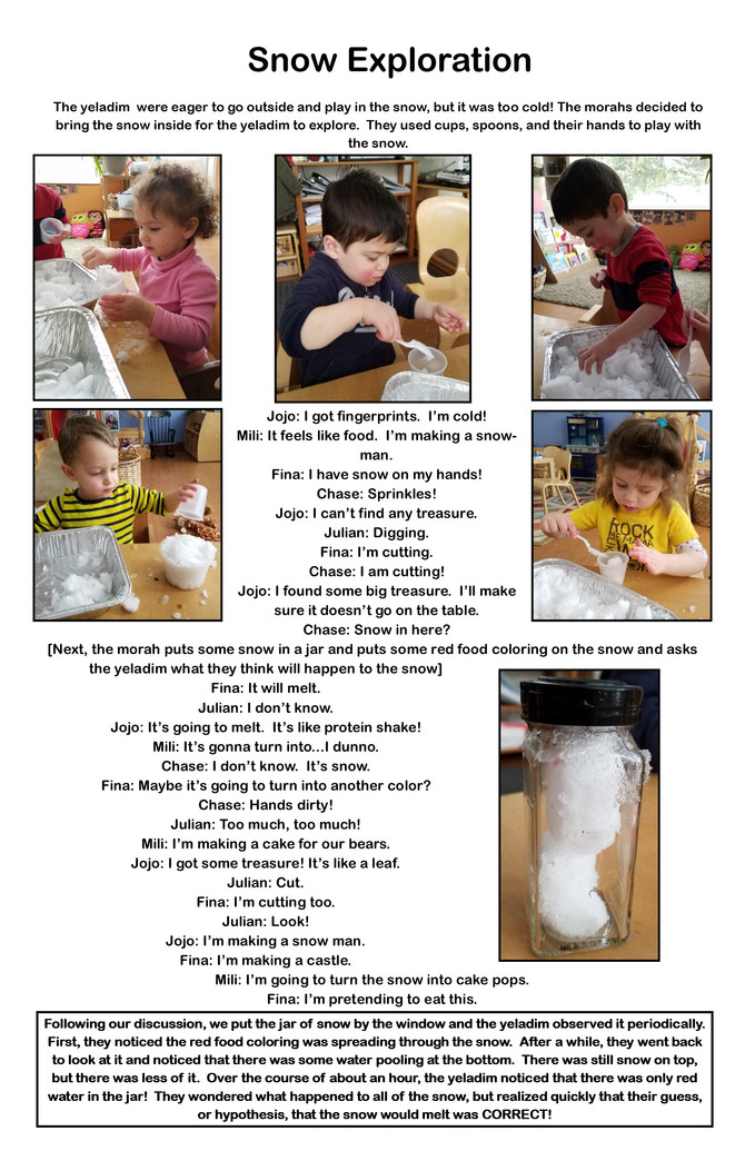 Snow Exploration in Room Daled