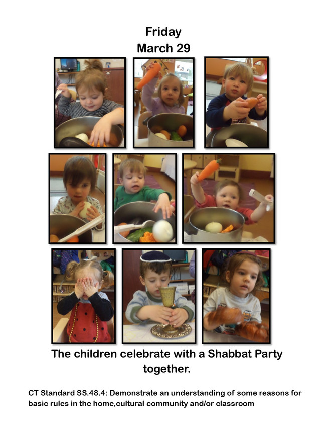 Shabbat Party In Room Alef