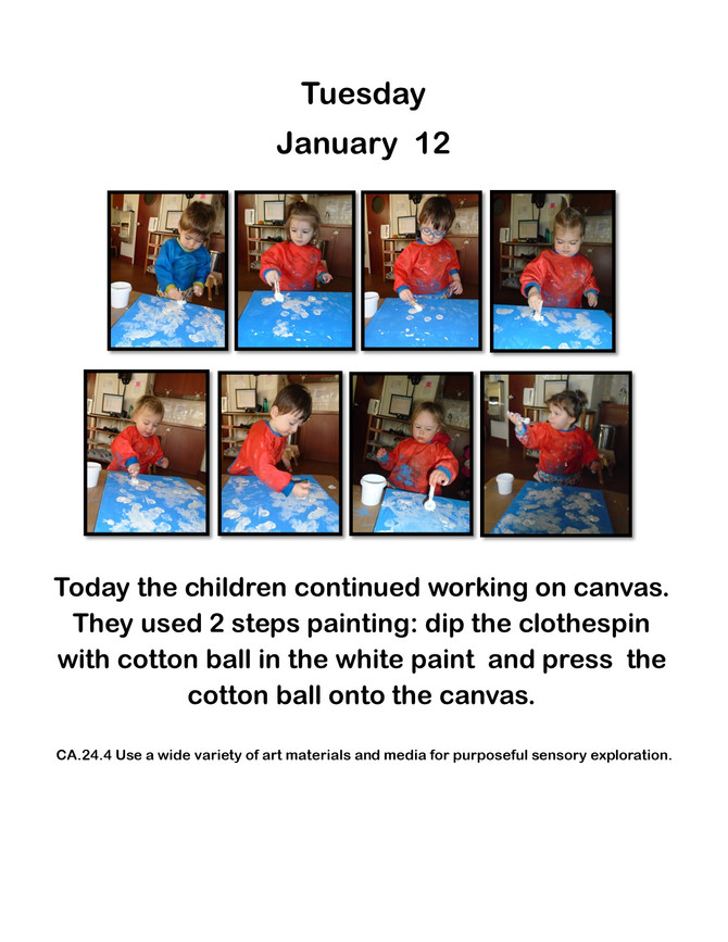 Room Alef's Multi-Step Winter Art Provocation