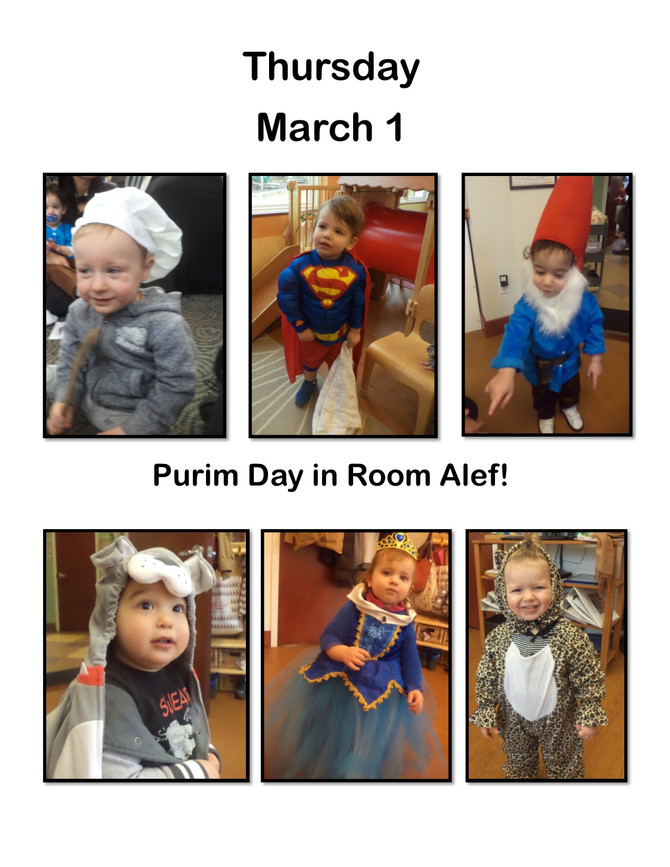 Room Alef Wishes You A Happy Purim!