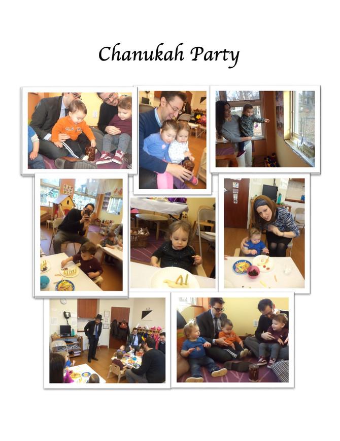 Room Alef's Chanukah Party