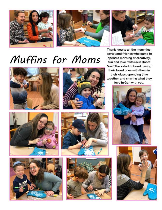 Muffins for Moms in Room Vav