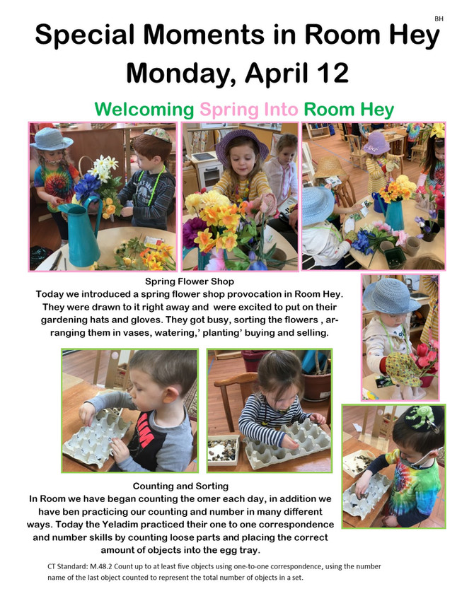 Room Hey Welcomes Spring!