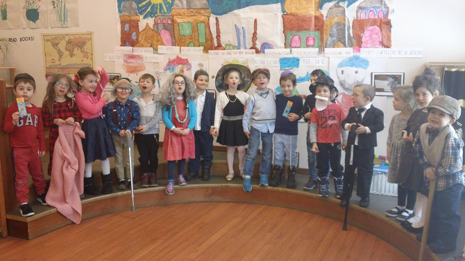 Room Chet Celebrates the 100th Day of School!