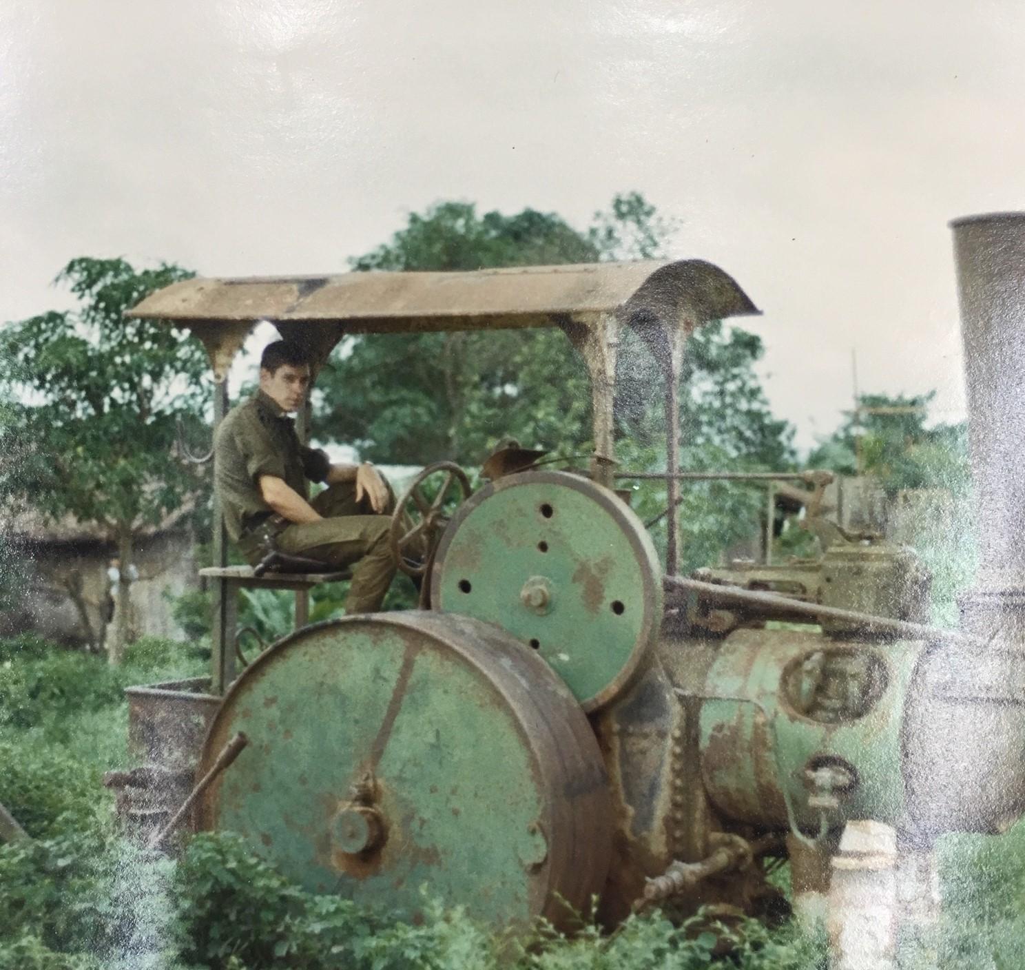 Scott Alwin on Vietnamese farming machin