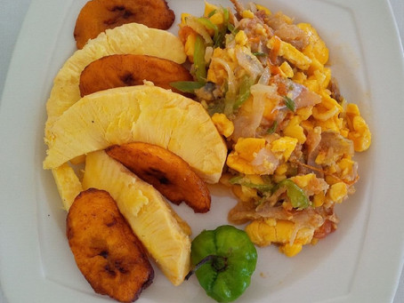 Jamaican Food Stories: I want to run a boat.