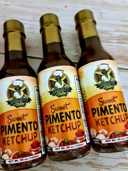 Sweet pimento ketchup