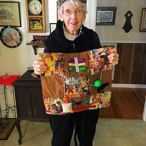 5 Reasons to Get a Fidget Quilt for Your Loved One with Alzheimer's or Dementia