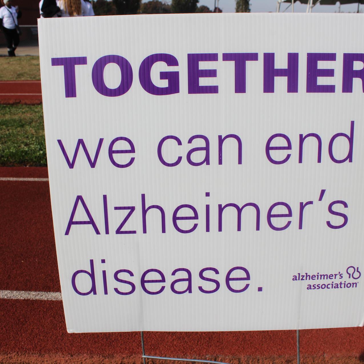End Alzheimer's