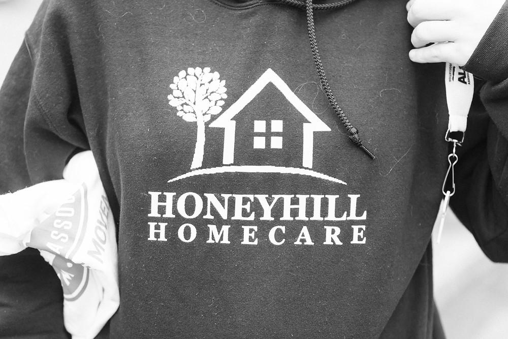 HoneyHill HomeCare sweatshirt