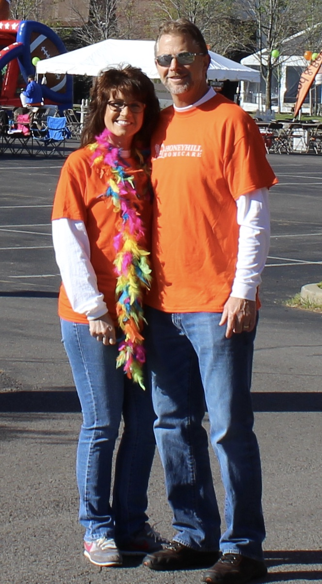 Mike & Cheryl Walk MS 2017